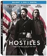 Hostiles [Blu-ray+DVD+Digital, 2018] - $12.95
