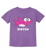 SHARK TEE SHIRT FOR SISTER TODDLER SIZE 2-T NWT LAVENDER :B19-50 - $13.85