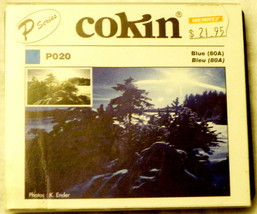 Cokin 48-82 mm Filter P002 Blue For Black & White Film P Series - $14.53