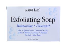 Exfoliating Natural Bar Soap Marula & Tamanu Oils + Shea Butter Unscente... - $11.65