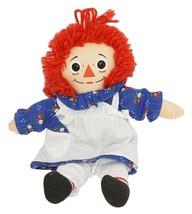 "Raggedy Ann 11"" Plush Toy - Stuffed Animal Hasbro Doll Figure 1996 - $18.50"