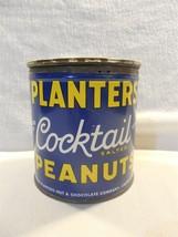 Vtg 1940's Planters Peanut Mr Peanut Canadian Cocktail Peanuts 15 Oz Tin... - $21.95