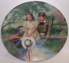 TOM and Becky; Knowles China Collectors Plate - $19.79