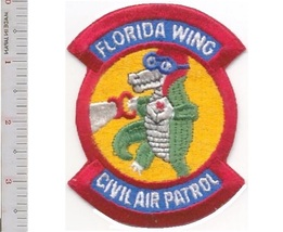 Us Civil Air Patrol Cap Florida Wing Us Air Force Auxiliary Usaf Aux Patch - $9.99