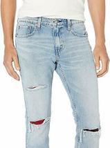 Levi's Strauss 512 Slim Taper Fit Men's Stretch Jeans Girling Destructed image 3
