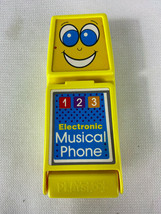 Vintage 1982 Playskool Electronic Musical Phone Flip Phone with Sound - $19.95