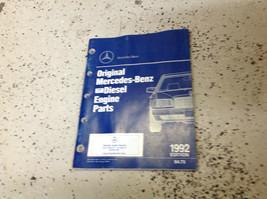 1987 1988 1989 1990 1991 1992 93 Mercedes Benz Parti Catalog Manuale OEM... - $89.09