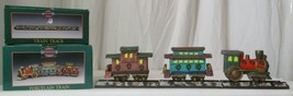 Memories Collection Porcelain Train and 3 piece train track - $9.89
