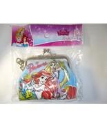 Disney Princess Ariel & Rapunzel Gamaguchi Coin Purse Wallet I - $7.60