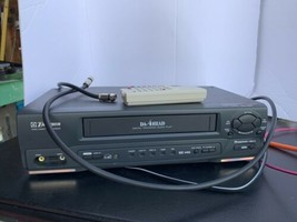 Emerson EWV401B Hi-Fi Stereo 19 Micron 4 Head VHS VCR Player/Recorder. No Remote - $48.51
