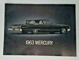 Original 1963 Ford Mercury S55 Dealer Sale Brochure S46   - $29.99