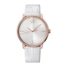 Calvin Klein K2y2x6k6 Accent White Classic Women's Watch - $170.12
