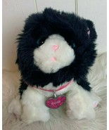Little Live Pets Muffin My Dream Kitten Black White Cat Interactive Soun... - $34.60