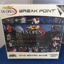 GDC-Break Point 30006 US Open DVD Board Game ~ 2-4 players Ages 8+ - $19.95
