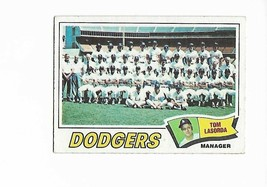1977 Topps Los Angeles Dodgers Team Set - $5.50