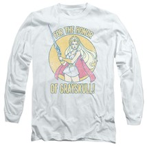 She-Ra Princess of Power TV retro 80's cartoon long sleeve graphic tee DRM230 image 1