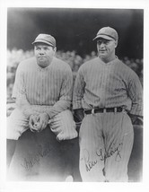 Babe Ruth & Lou Gehrig 8X10 Photo New York Yankees Ny Baseball Picture Pp Sign - $3.95