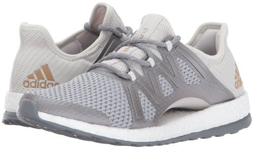 adidas Performance Womens PureBOOST Xpose Running Shoe Grey/Tactile Gold BA8271