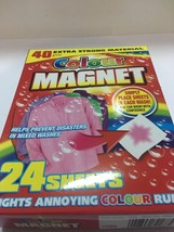 Colour Guard Catcher Magnet Sheet Avoid Colour Run Washing Machine Dark ... - $4.94