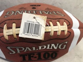 Spalding Tf-100 Silver leather football A10 image 2