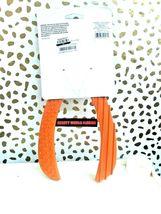 """Rubber Wishbone Dog Toy Orange 10.5"""" Long, Boots & Barkley, For Large Dogs NEW image 4"""