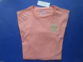 Sonoma Life + Style Weekend Tee SSL Men's Knits T-Shirt Orange Heather S MSRP$20 - $9.89