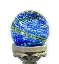 Echo Valley 8140 10-Inch Glow-in-the-Dark Illuminarie Glass Gazing Globe, Light