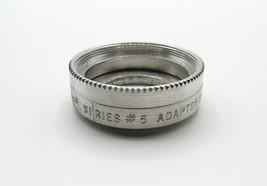 Vintage Tiffen Series #5 - Metal Screw-In Adapter Ring for Bolex - Good Cond. - $4.00