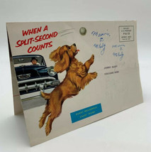 Chevrolet Sales Brochure Mailer Flyer Foldout When A Split Second Counts 2685HT - $12.30