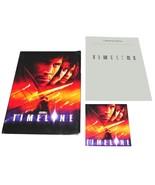 2003 TIMELINE R. Donner Movie PRESS KIT Folder CD Production Notes Paul ... - $13.99