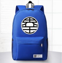 Dragon Ball King Kai Symbol Awesome Design School Backpack Blue - $59.90