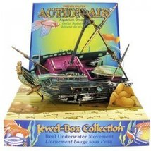 Penn Plax Action Half Shipwreck Aquarium Ornament - $19.79