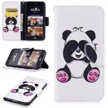 XYX Wallet Phone Case for LG K20 Plus Case,LG LV5,[Giant Panda][Kickstan... - $9.88
