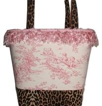 Pink Leopard Diaper Bag, Pink Central Park Diaper Bag - $57.00