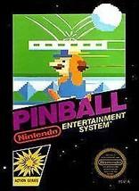 PINBALL NES Nintendo 1985 - $6.99