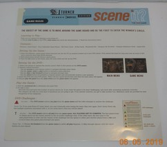 2004 Screenlife Scene it Turner Classic Movies Replacement Instruction Sheet - $9.50