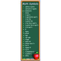 Mcdonald Publishing Math Symbols Colossal Concept - $8.99