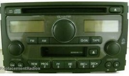 Honda Pilot 2003-2005 CD Cassette radio 1TV3. OEM factory original stere... - $60.25