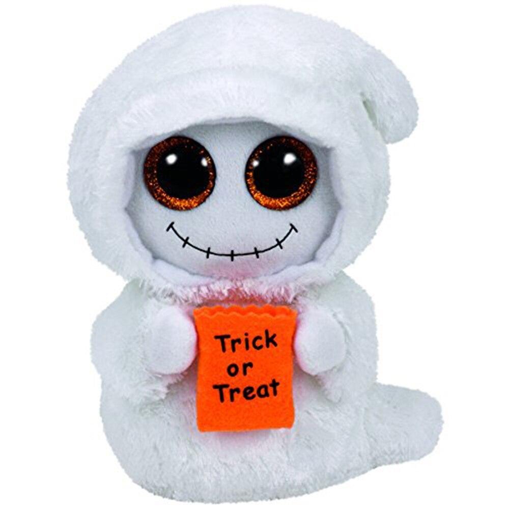 "Pyoopeo Original Ty Boos 10"" 25cm Mist the Halloween Ghost Plush Medium Stuffed"