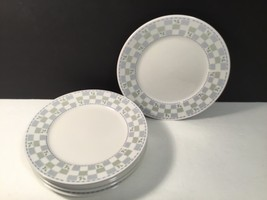 Oneida Katrin Salad Plate set of 6 Lovely - $31.43