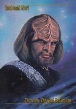 1993 Skybox Star Trek Master Series #11 Lieutenant Worf M/NM - $2.93