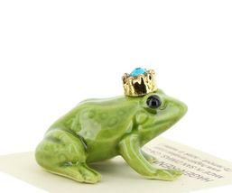 Birthstone Frog Prince December Simulated Zircon Miniatures by Hagen-Renaker image 5