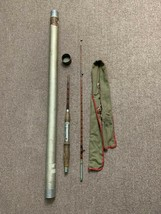 Vintage Bamboo Fly Fishing Rod Pole 2 Piece - $56.99