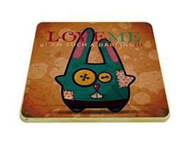 Panda Superstore 2 Pieces Of D Models Retro Cartoon Creative Adiabatic Coasters - $17.91