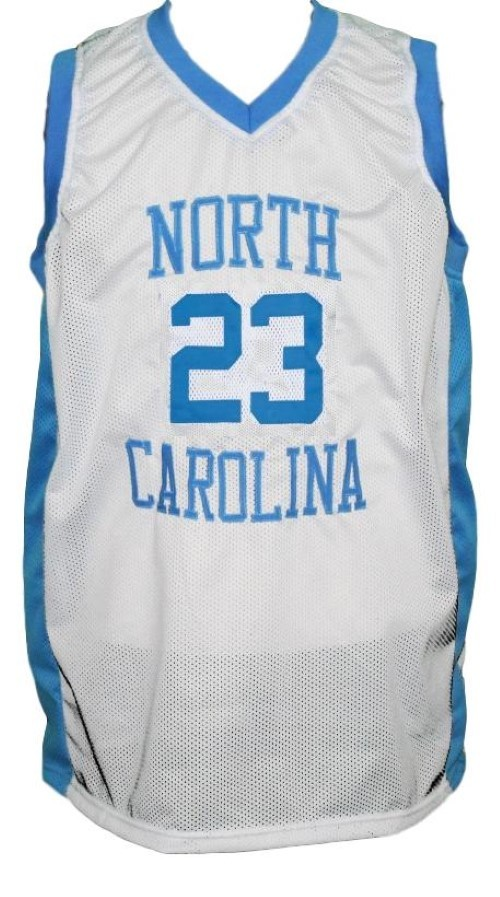 Michael jordan  23 college basketball jersey white   1