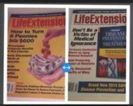 set of 2 life extension magazines back issue sept 2013 & sept 2014 - $18.99