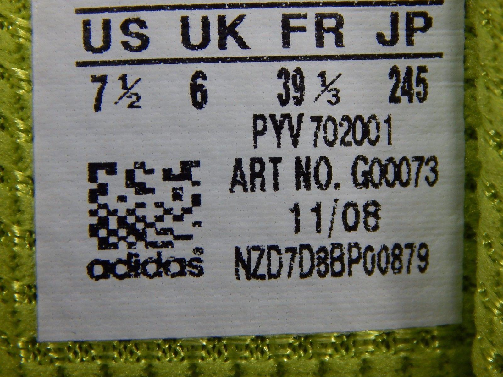 Adidas Allegra 2 Women's Running Shoes Size US 7.5 M (B) EU 39 1/3 White G00073