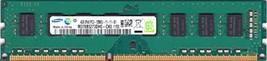 Samsung 4GB PC3-12800 DDR3-1600MHz Non-ECC Unbuffered CL11 240-Pin DIMM M378B527