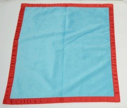 Oh Mint 3252207AQRED Mini Minky Blankie Colors Aqua and Red - $13.99