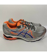 Asics Gel Flux 3 Womens Running Shoes Gray Purple Sz 10.5 T664N Bright S... - $29.69